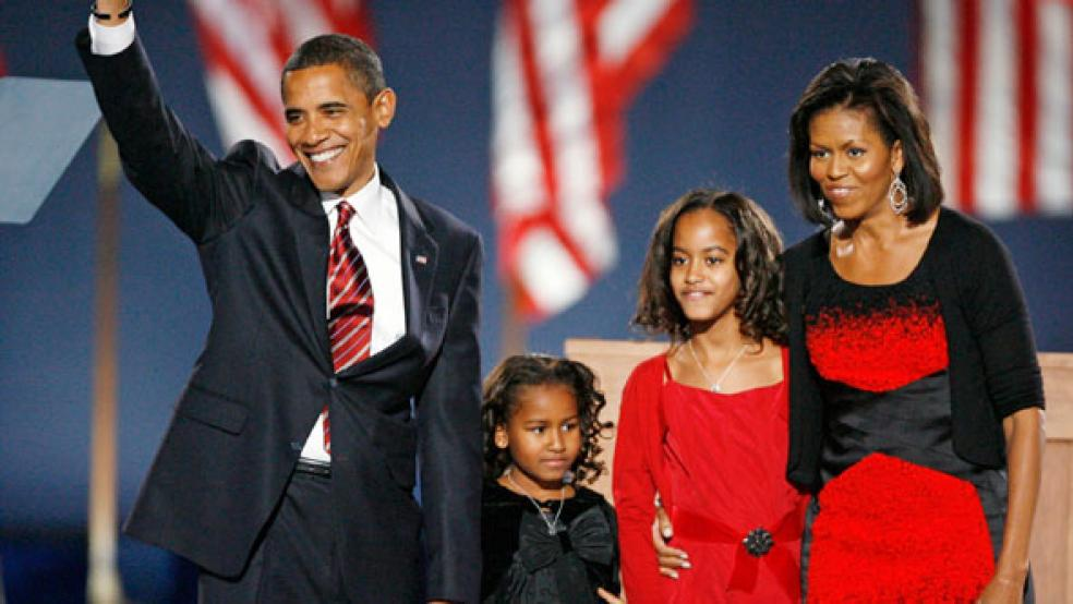 Barack Obama is elected President of the United States