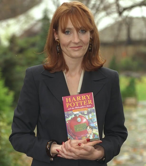 J.K. Rowling publishes the first Harry Potter book, 1997