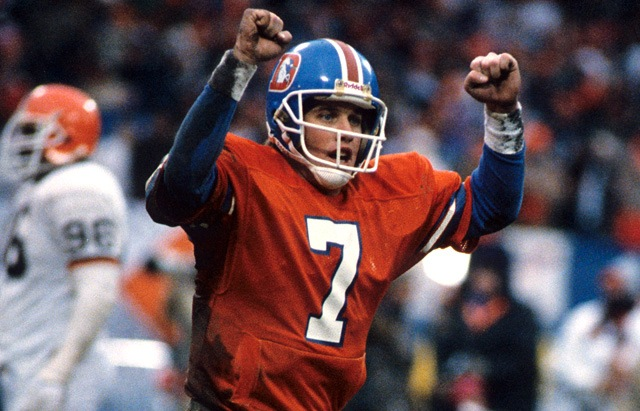 John Elway is selected #1 overall by the Baltimore Colts