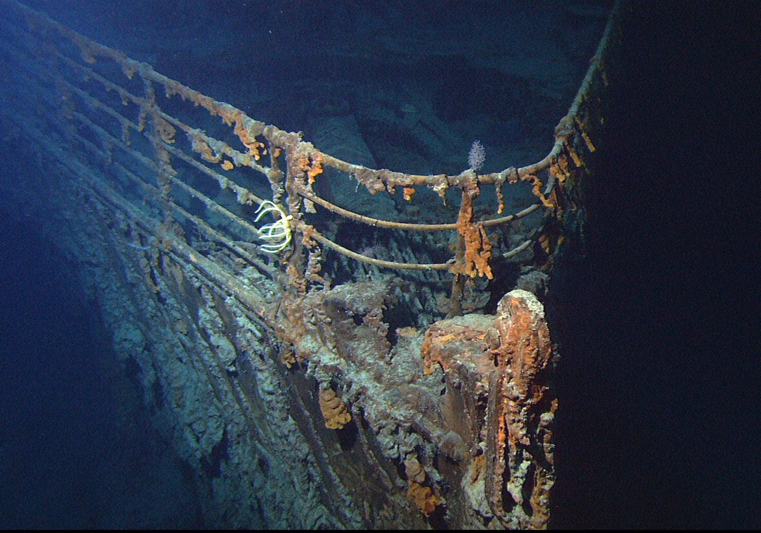 Titanic wreckage found in 1980
