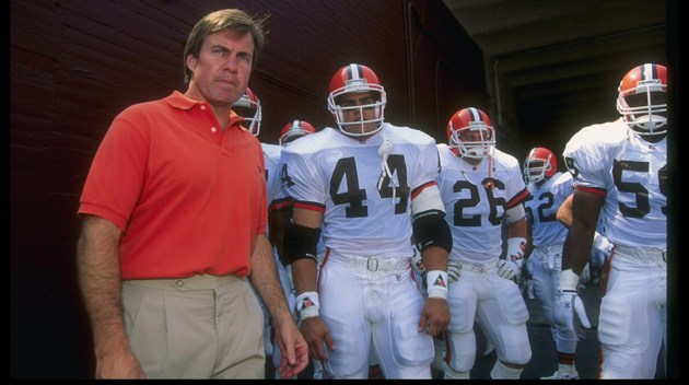The Cleveland Browns fire Bill Belichick, 1995