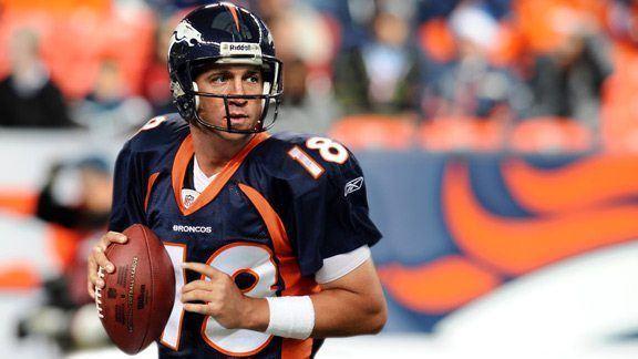 Broncos & Peyton Manning, 2012