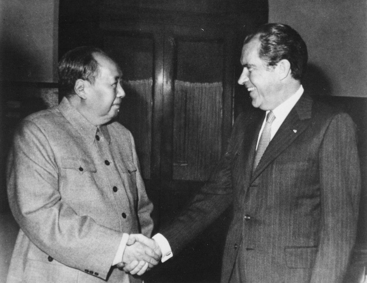 Nixon in cChina, 1972